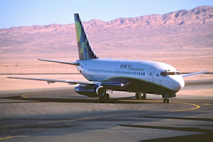 Sky Airline 737