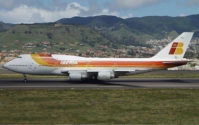 old iberia 747