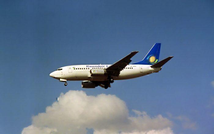A RwandAir Boeing 737