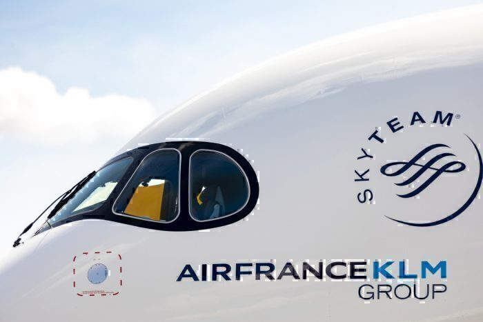 Air France A350 mask