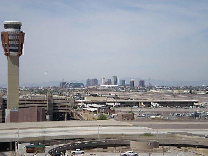 PHX airport tower