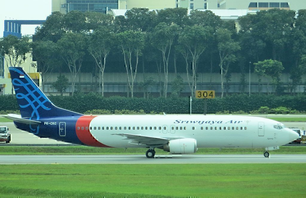 B737-4Q8 Sriwijaya Air