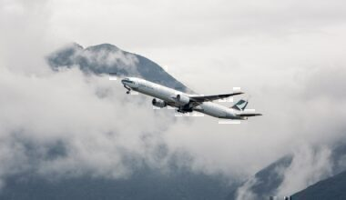 A Cathay Pacific Boeing 777