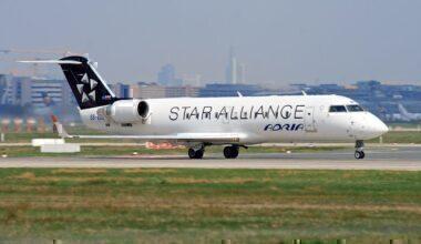 Adria Airways, Star Alliance, Departure