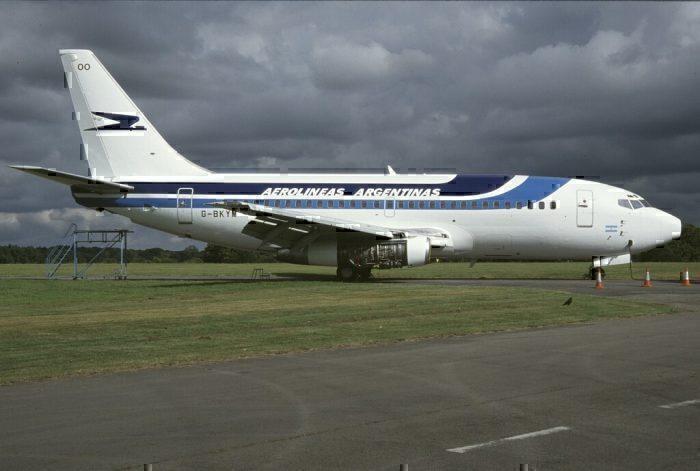 Aerolíneas Argentinas B737-200