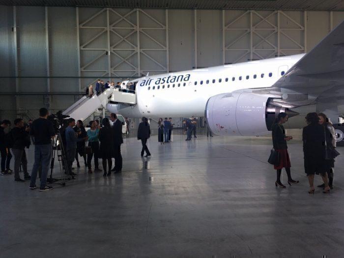 Air Astana ceremony