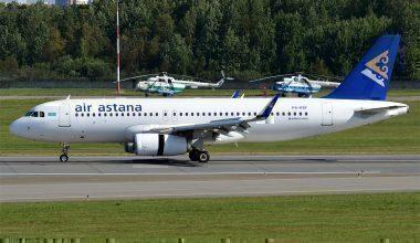 FlyArystan, Air Astana, Nur Sultan to Moscow