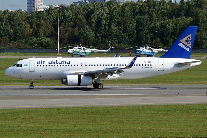 Air Astana A320