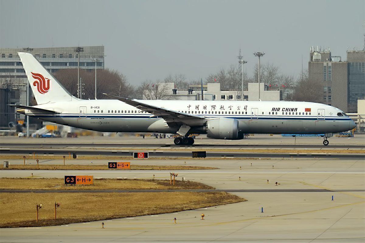 Air China, B-1431, Boeing 787-9