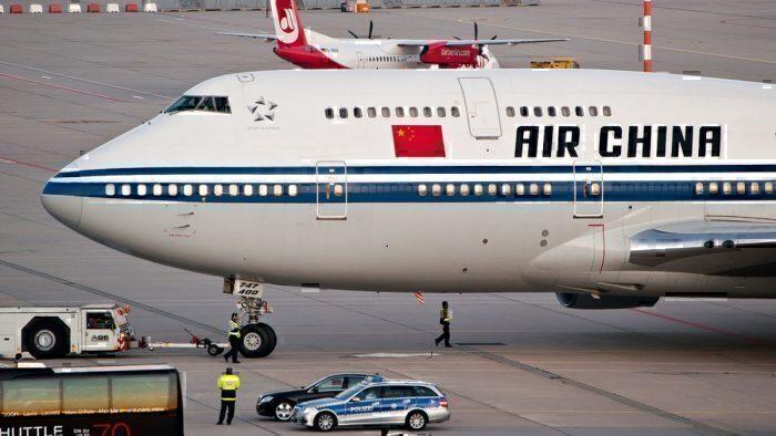 Air China B747