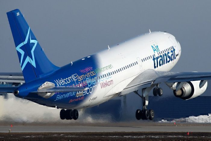 An Air Transat Airbus A310