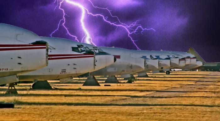 Aircraft Graveyard, Boneyard, Halloween