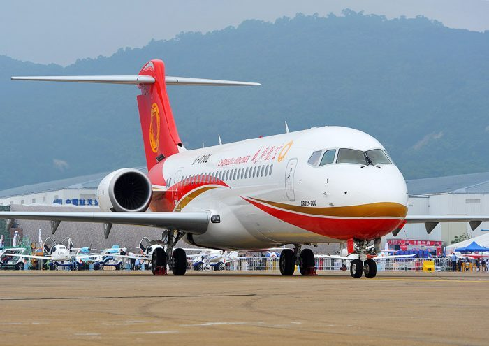 Chengdu ARJ21-700