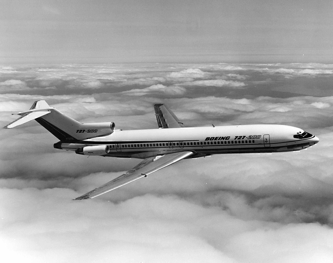 Southwest Airlines Once Operated The Boeing 727