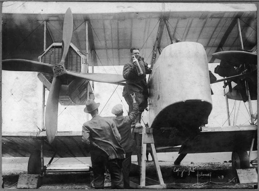 Vickers Vimy aircraft