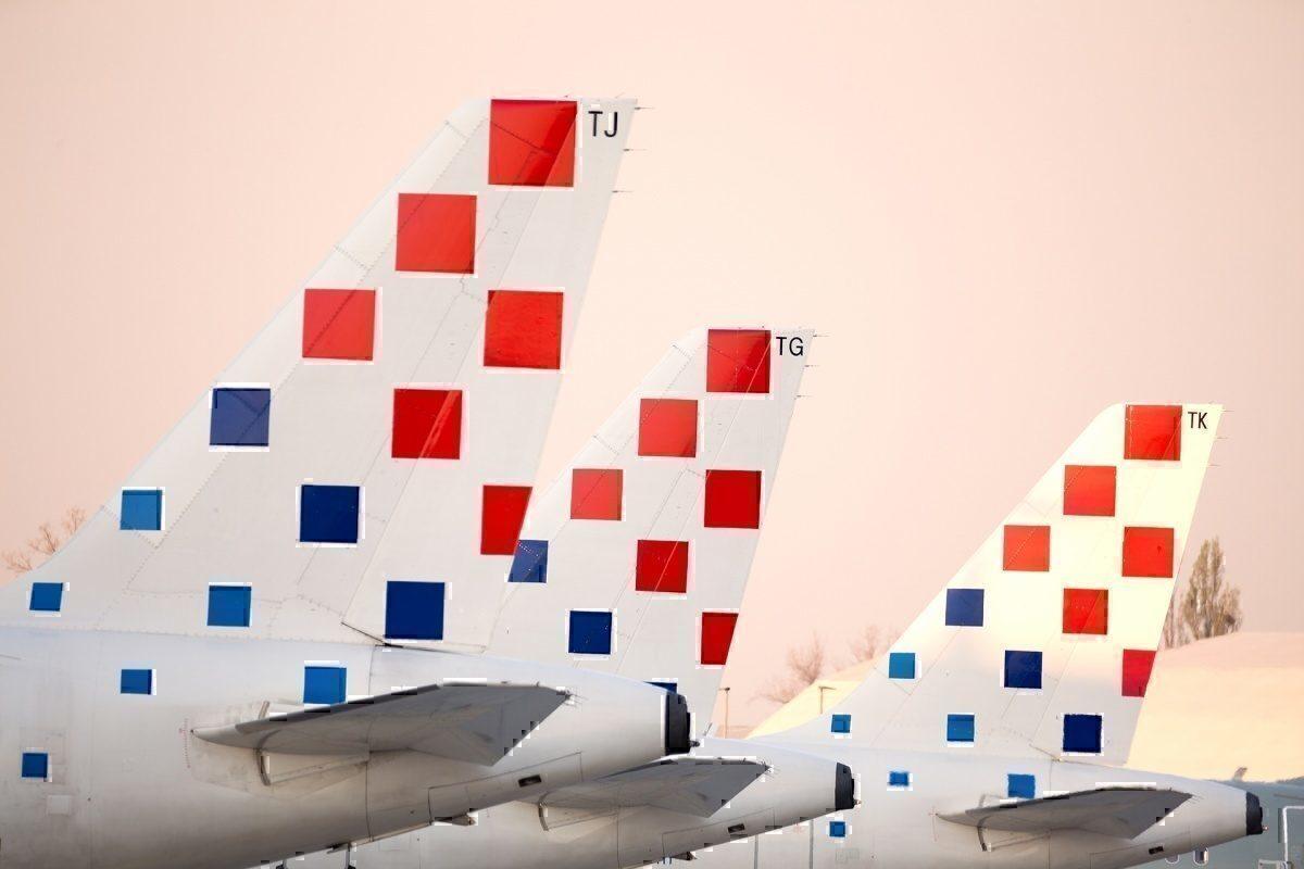Croatia Airlines fleet