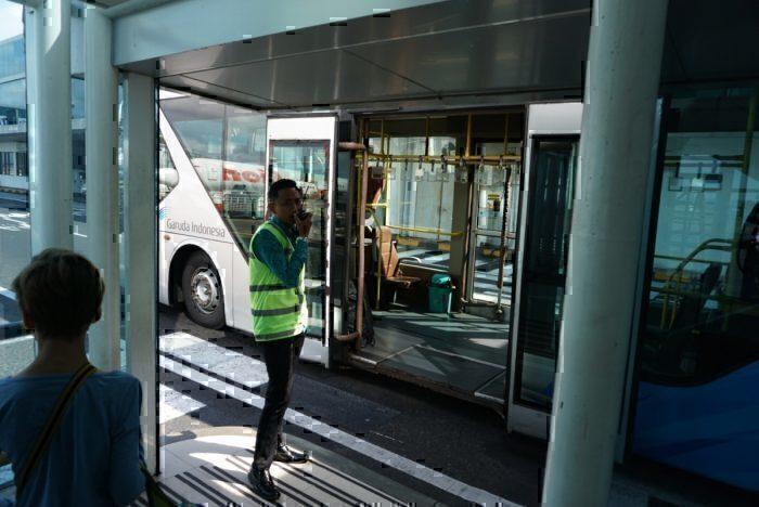 Shuttle bus to ATR