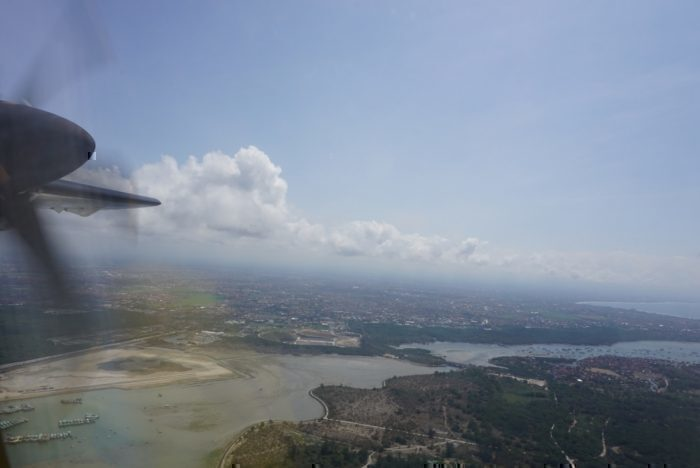 Takeoff, Bali
