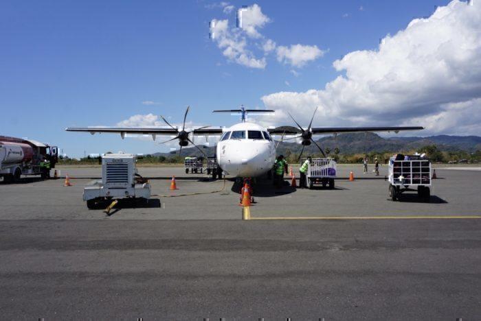 Parked ATR 72