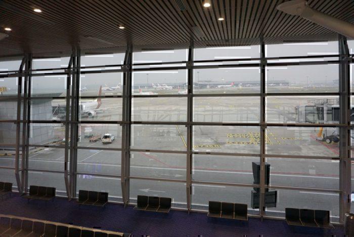gate, plane view