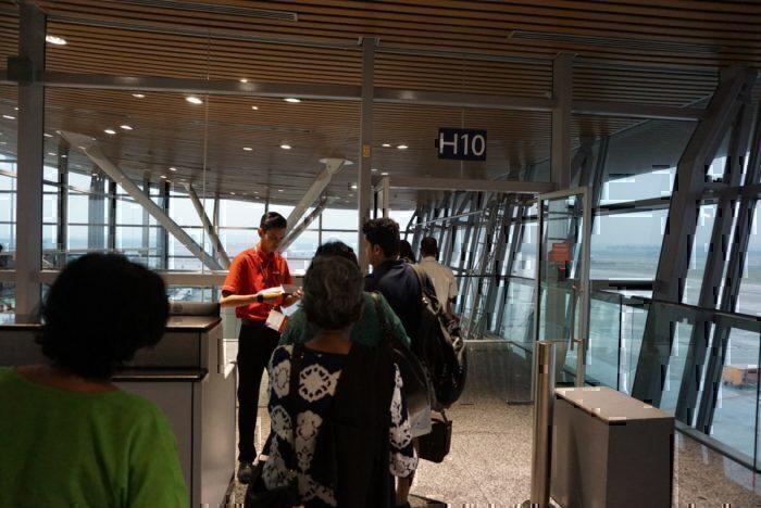 boarding pass check