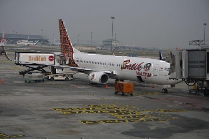 Batik Air plane