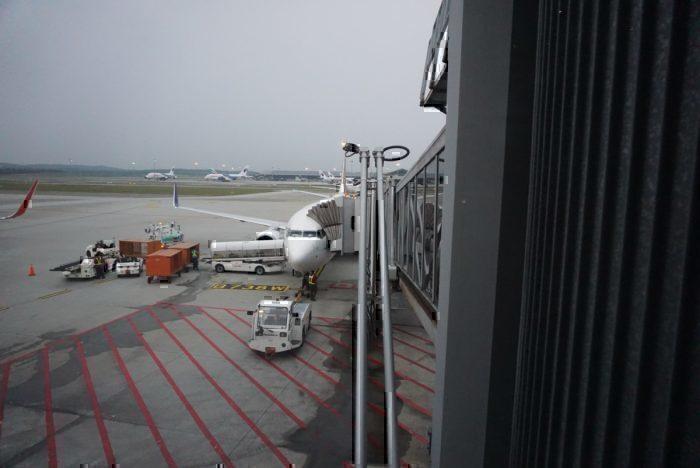 Batik 737 view