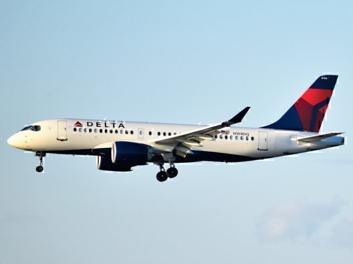 Delta Airlines A220