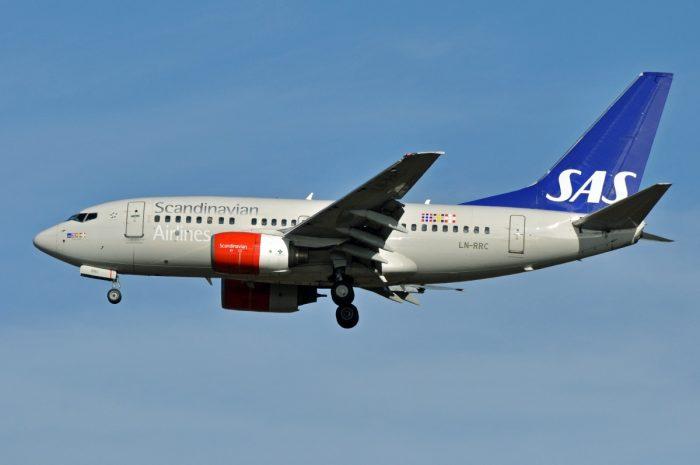 SAS 737-600 Aircraft