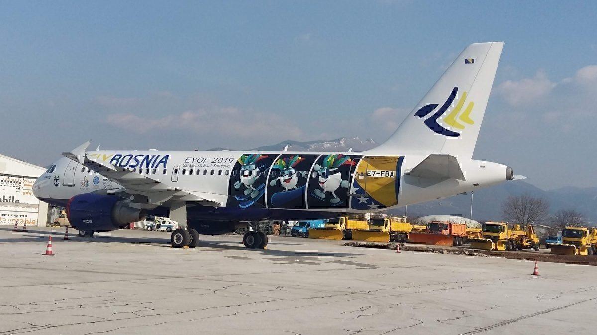 FlyBosnia A319