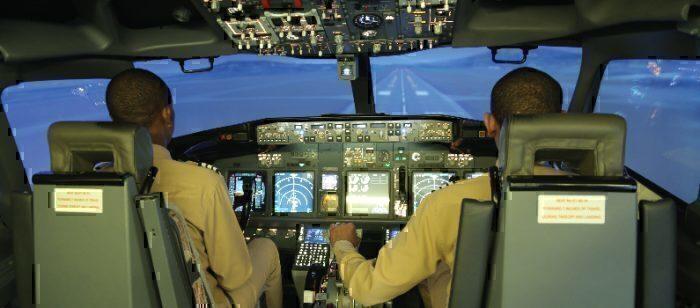 Ethiopian pilots