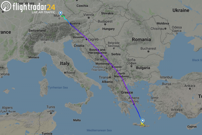 Eurowings, Airbus A320, Heraklion
