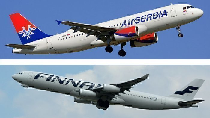 Finnair Air Serbia Codeshare