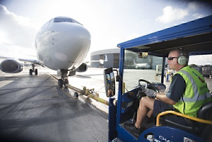 American Airlines, Catering, Golf Cart