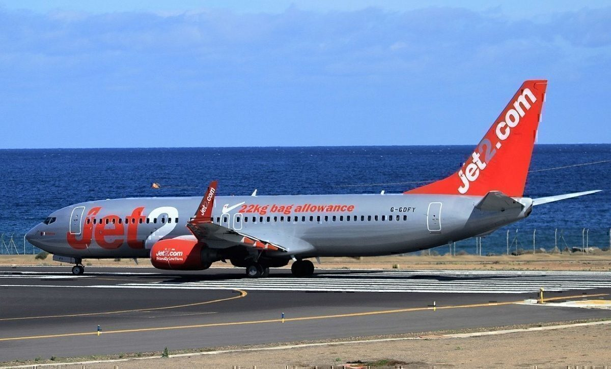 G-GDFY Boeing 737-86Q Jet2