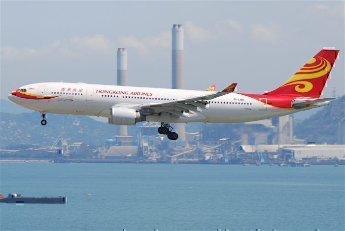 Hong Kong Airlines Invites Foreign Pilots To Leave Amid Slowdown