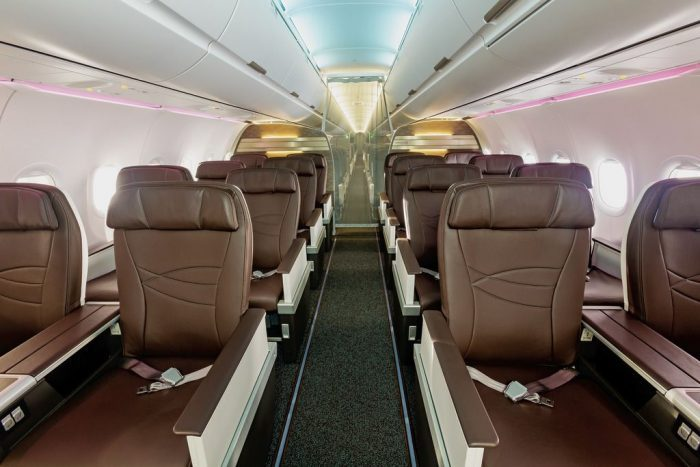 Hawaiian A320neo First Class