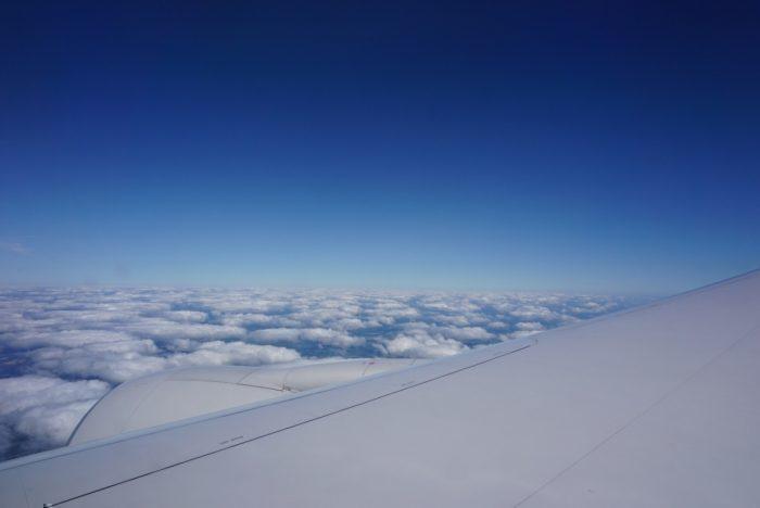 midflight, Atlantic views