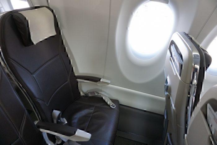 leather seat, skinny seat