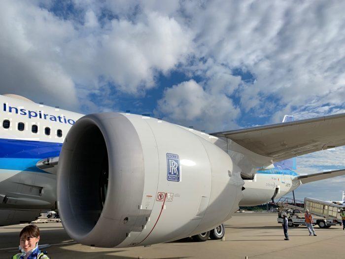 Rolls Royce Engine, ANA 787