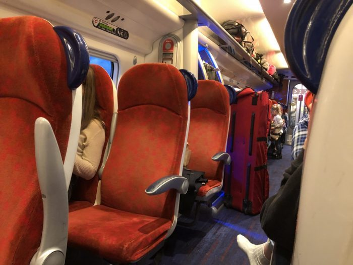 virgin trains empty seats