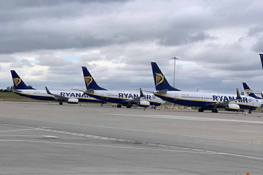 Ryanair, Corporate Jet, Boeing 737