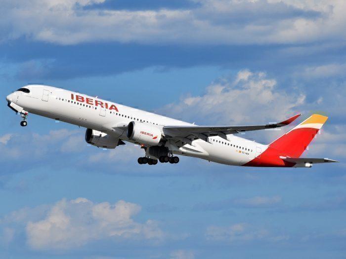 An Iberia Airbus A350