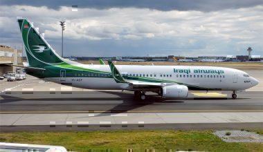 Iraqi Airways, YI-AST, Boeing 737-81Z