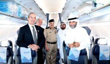 Jazeera Airways launches first flight to London طيران الجزير ة تطلق أول رحلة إلى لندن