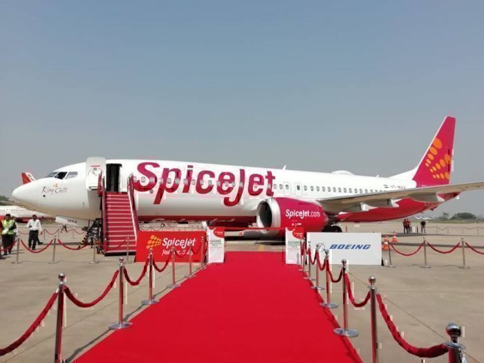 spicejet-first-boeing 737-max