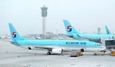 Korean Air 737