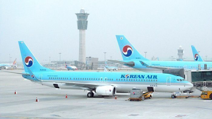 Korean Air 737