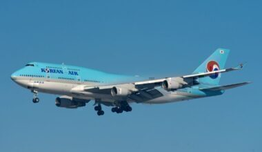 Korean Air, Boeing 747, Retirement