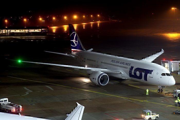 LOT Polish Dreamliner